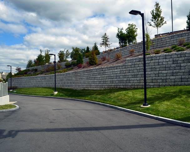 Commercial Retaining Walls, Buffalo & Rochester NY
