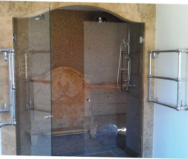 vetri per docce grandi