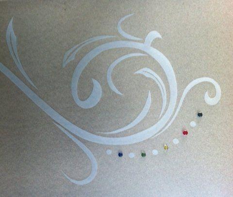 decorazioni su cristalli