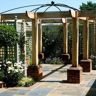 atrium in garden