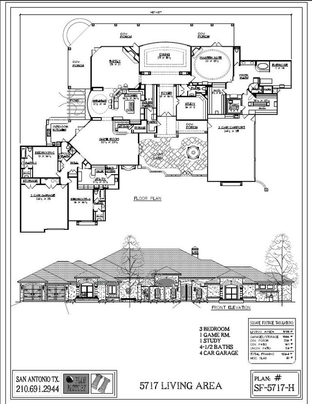 4000 sq ft house plans single story for 4000 sq ft modular homes