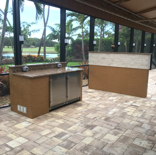 Outdoor Kitchens By Usa Grill Patio Located In Jupiter Fl
