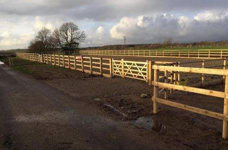 Commercial fencing | D Popham Contracting