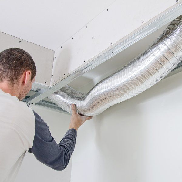 Repairing of the air conditioner ducting