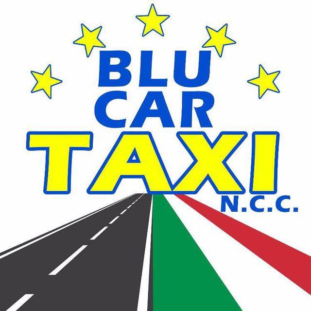 BLU CAR TAXI - LOGO