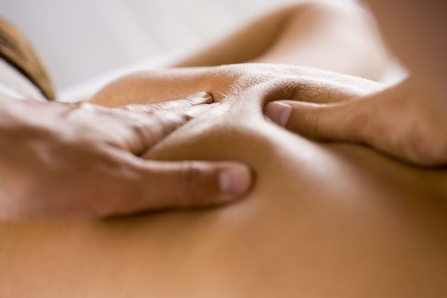 medical massage human touch stress reduction relaxation