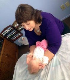 healing infants touch baby massage