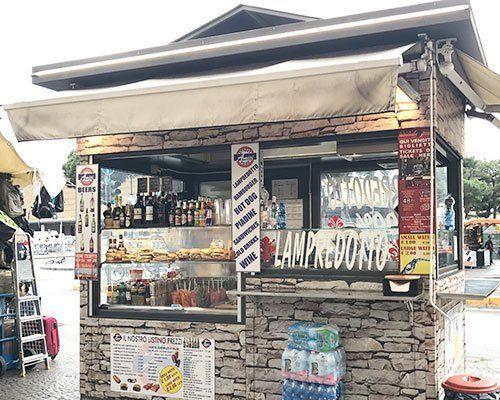 Chiosco di cibo e street-food a Firenze