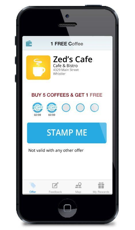 Choose your own offer design loyalty app