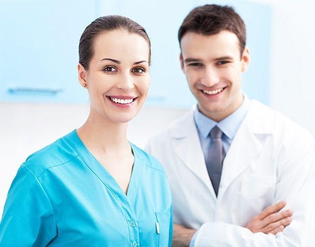 dentist office smile