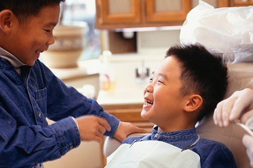 children boys dentist