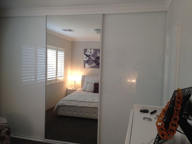Customised Sliding Mirrored Wardrobes Installed In Perth