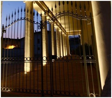 cancello di una villa