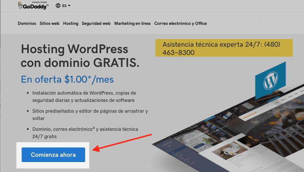 Cómo Crear Tu Página en Wordpress l Soygenio.com
