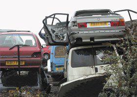 End of life vehicle centre - Workington, Cumbria - All Vehicle Salvage Ltd - Scrap