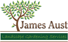 James Aust Landscape Gardening logo
