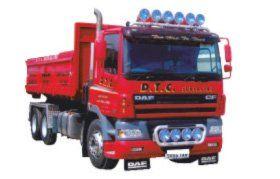 Paving driveways - Belhelvie, Aberdeen - D T C Surfacing Contractors - Lorry
