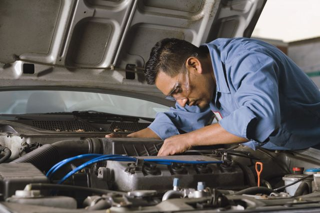 A mechanic providing service at our auto repair shop in Wentzville, MO