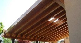 porticato in legno