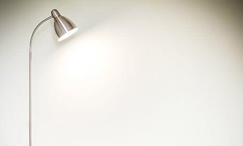 una lampada