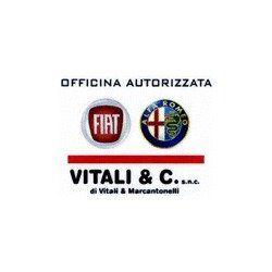 Insegna di ufficio autorizzato di Fiat e Alfa Romeo