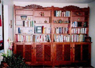 New Mexico Bookcases Bookcases Southwestern Bookcases