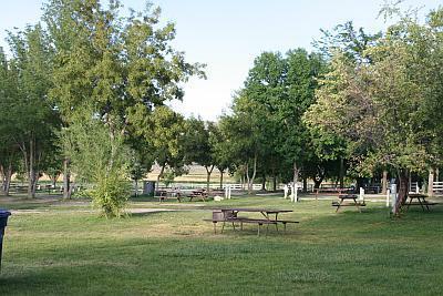 Campground at Downata Hot Springs in Downey Idaho
