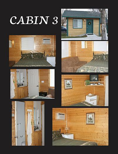 Family cabin for rent in Idaho at Downata Hot Springs Resort