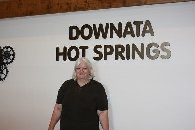 Robin Nielsen, LMT Massage therapist at Downata Hot Springs