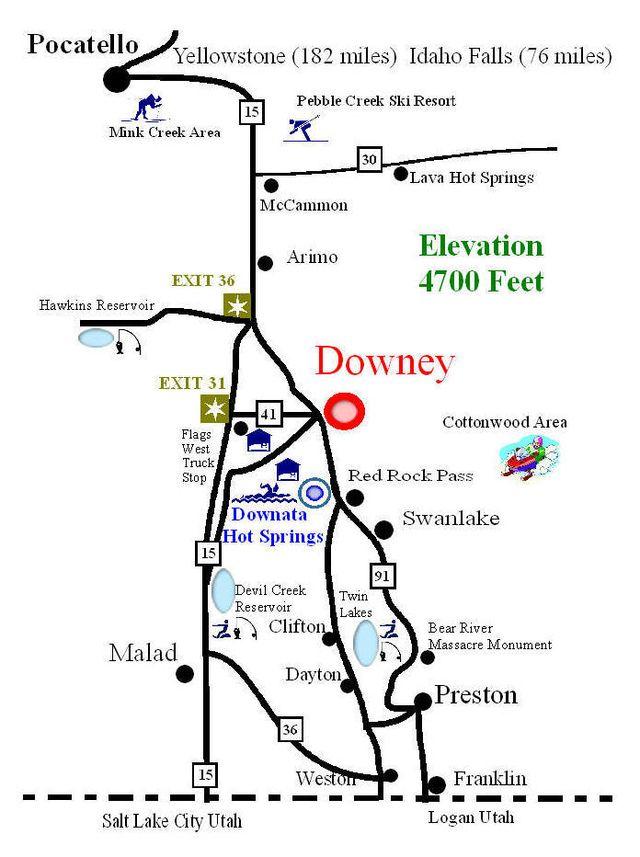 Downata Hot Springs Resort - Waterpark - Hot Pools - Camping ...