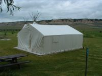 Wall Tent at Downata