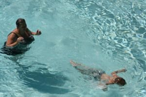 Swimming lessons for children