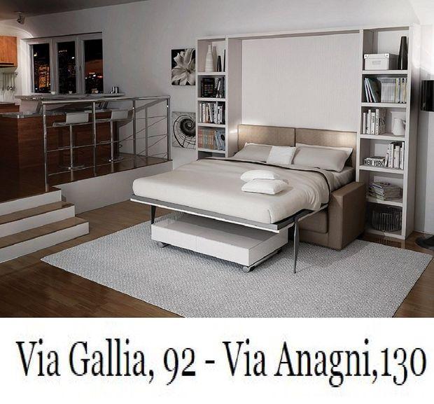 Letti A Scomparsa A Roma Via Anagni 130 Via Gallia 92 I Salvaspazio
