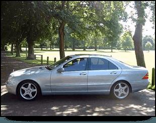 Mercedes saloon car