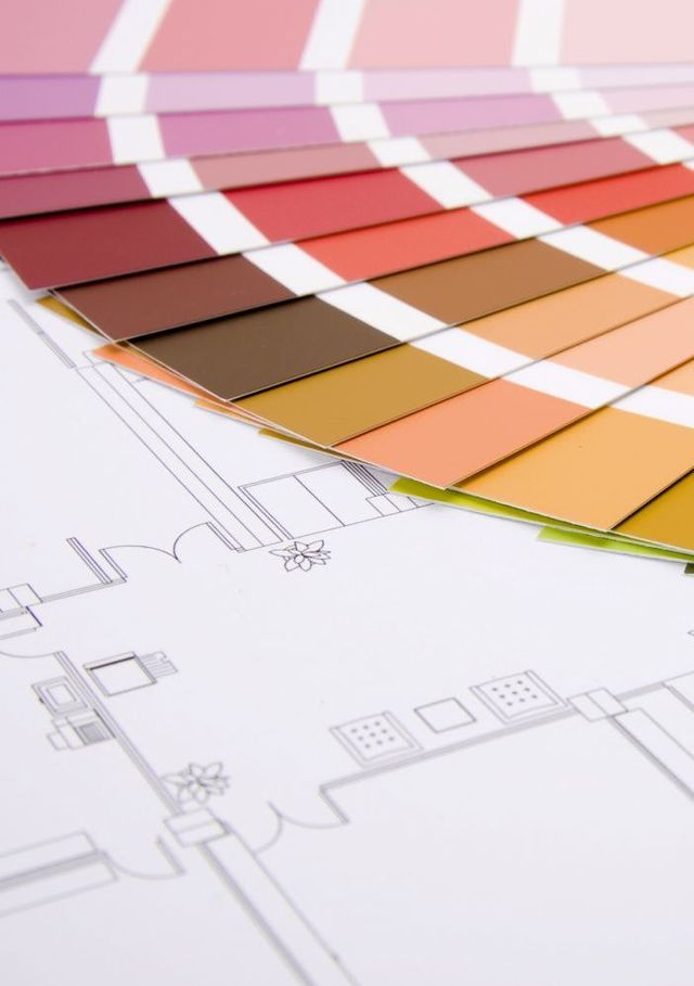 Colour swatches used for painting services in Whangarei