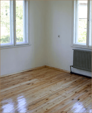 Wood floor polishing