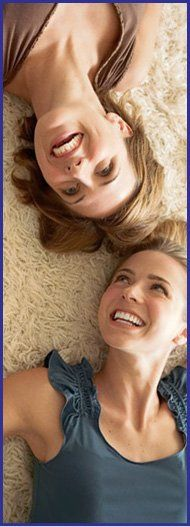 Upholstery cleaning - Huntingdon, Cambridge - Ashcroft Carpet & Upholstery Cleaners - ladies laying on carpet