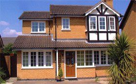 Aluminium windows - Bromley, West Sussex, London - Reliance Windows Ltd - House