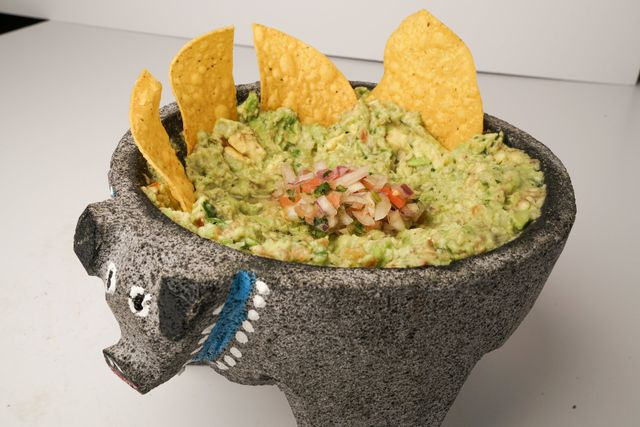 rice bowl,  Habaneros Mexican Grill, guacamole