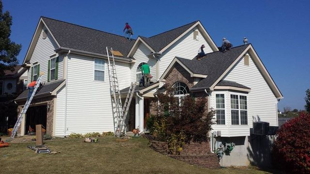 New Roof, Gutters, and Siding in Wildwood, MO