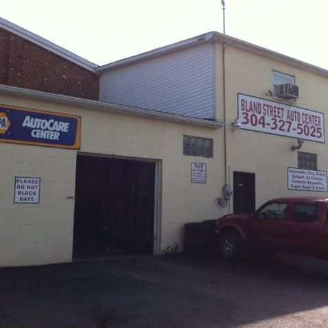 Front view of our auto care center