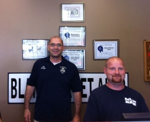Professionals from Bland Street Auto Center