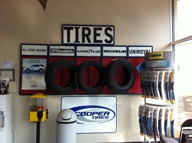 We offer a wide range of tires