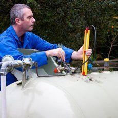 LPG system installation