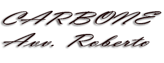 STUDIO LEGALE CARBONE AVV. ROBERTO - logo