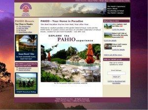 Pahio Website Screen shot