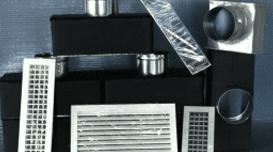 griglie per diffusione aria, grate, canalizzazioni per climatizzatori