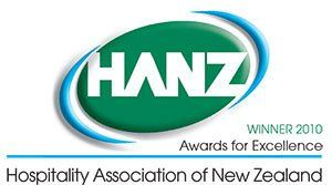 HANZ Awards Winner Logo 2010