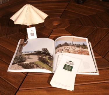 ombrelloni legno
