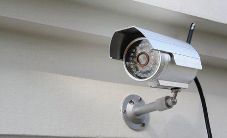wall mounted CCTV